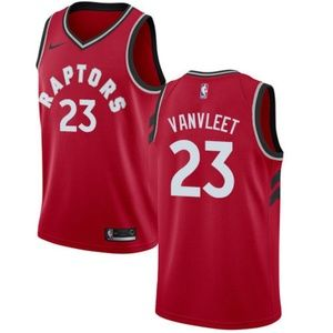 Toronto Raptors Fred VanVleet Red Jersey